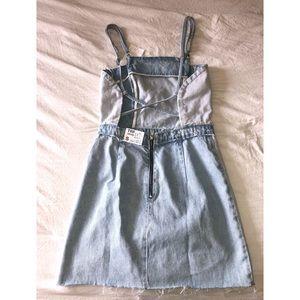 Zara trafaluc denim dress - new with tags